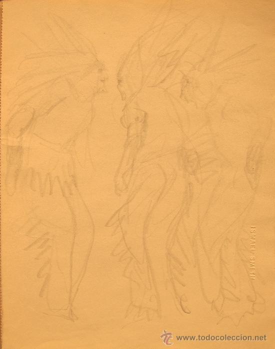 Dibujo A Lápiz De Ismael Smith 1886 1972 Es Comprar Dibujos