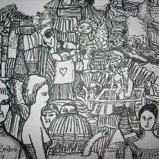Arte: BELLO DIBUJO DE HERBERT KREIL - TITULADO Y FIRMADO - BELLA OBRA. Lote 29581811