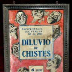 Art: PROYECTO PARA ENCICLOPEDIA DE CHISTES ORIGINAL DIBUJADO DE JUNCEDA. . Lote 30104359