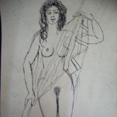Arte: JORDI CUROS-DESNUDO. Lote 30354376