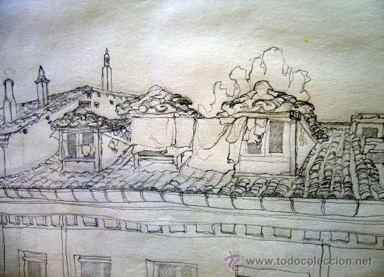 Las Libretas De Dibujo De 10 Artistas Colombianos: Dibujo A Lapiz, Calle De San Lorenzo De Madrid,