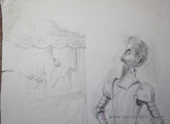 Arte: DIBUJO A LAPIZ DEL QUIJOTE - Foto 4 - 30621282