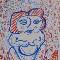 Arte: LABAJJO GRANDÍO - ACRÍLICO SOBRE TELA ADHERIDO A TABLEX - 33 X 24 CM.. Lote 30769188