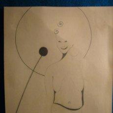 Arte: DIBUJO A LAPIZ (S. XX). Lote 113636568