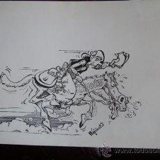 Arte: DIBUJO ORIGINAL A PLUMA. WOJCINSKI - CÓMIC - TEBEO. Lote 31131601