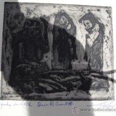 Arte: AGUAFUERTE ANTONIO CANET AÑOS 60 CUBA. Lote 31570347