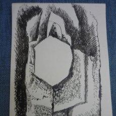 Arte: COMPOSICIÓN ABSTRACTA CONSTRUCTIVISTA, POR ISMAEL GONZÁLEZ DE LA SERNA. Lote 31597310