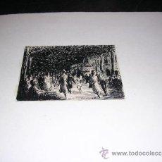 Arte: DIBUJO ORIGINAL A PLUMA ,AUTOR COMELERAN 43 -10X8 CM. . Lote 31709954