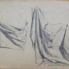 Arte: EXCELENTE ESTUDIO DE LUCES Y SOMBRAS, GRAN CALIDAD, SIGLO XIX. Lote 31784133