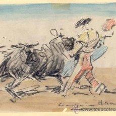 Arte: ANGEL GONZALEZ MARCOS. DIBUJO CERAS. Lote 31804585