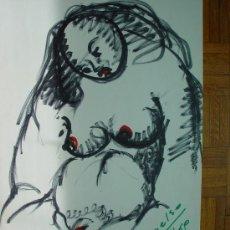 Arte: 'DESNUDO' PEDRO DELSO RUPEREZ (1924-1994). Lote 31818798