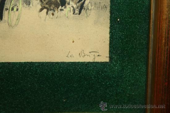 Arte: O2-016. DIBUJO SOBRE PAPEL REPRESENTANDO ARCO DE TRIUMFO FINALES S.XIX - Foto 4 - 95414130