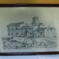 Arte: DIBUJO ENMARCADO . Lote 32339960