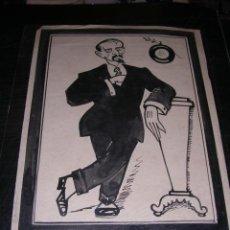 Arte: PICAROL PLUMILLA ,CAMBO DIBUJO PUBLICAR ESQUELLA DE LA TORRATXA 1920 PAG. 47 - FOTOGRAFIA CATALANA . Lote 32405128
