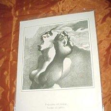 Arte: DIBUJO DE PLA NARBONA. COLECCION REFRANES Y AFORISMOS SOBRE EL DOLOR. CON PUBLICIDAD DE DISDOLEN *. Lote 32449937