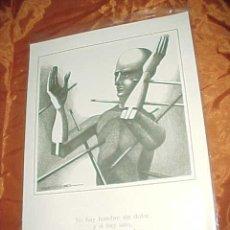 Arte: DIBUJO DE PLA NARBONA. COLECCION REFRANES Y AFORISMOS SOBRE EL DOLOR. CON PUBLICIDAD DE DISDOLEN*. Lote 32449976