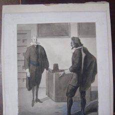 Arte: DIBUJO ORIGINAL DESTINADO A LA PUBLICACIÓN DE LIBROS. Lote 32475969