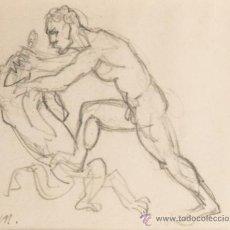 Arte: DIBUJO A LAPIZ, FIRMADO J.MATAMALA. Lote 32763055
