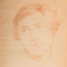 Arte - Dibujo a sanguina, firmado Matamala - 32778049