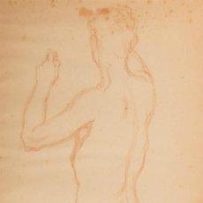 Arte: DIBUJO A SANGUINA, FIRMADO MATAMALA. Lote 32789796