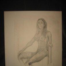 Arte - DIBUJO A LAPIZ FIRMADO - 32773135