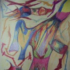 Arte: ANTONIO FERNANDEZ MOLINA-DIBUJO CERAS. Lote 33321336