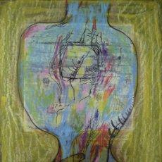 Arte: ANTONIO FERNANDEZ MOLINA-DIBUJO CERAS. Lote 33321394
