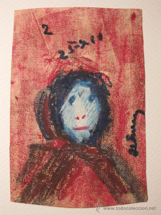 DIBUJO A CERAS DE JOSEP MARIA DE SUCRE (BARCELONA, 1886-1969) (Arte - Dibujos - Contemporáneos siglo XX)