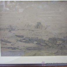 Arte: ANONIMO. EL TEMPLO DE KARNAK (EGIPTO). Lote 33501256