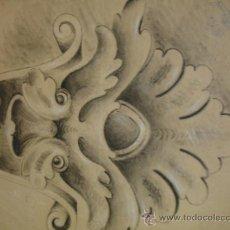 Arte: DIBUJO DEL 1907 FIRMADO . Lote 34189125