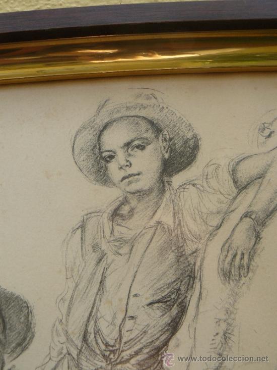 Arte: LITOGRAFIA - FIRMADA PORTA - 1946 - LABRIEGOS - Foto 3 - 34356821