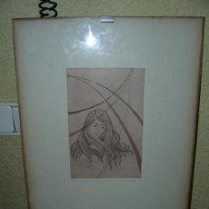 Arte: DIBUJO A TINTA - FIRMADO I TROWSKY - COMPOSICIÓN -. Lote 34440576