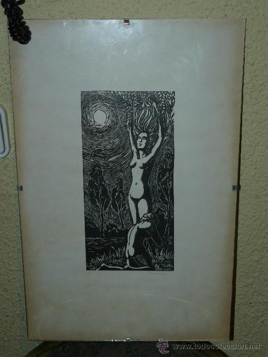 LITOGRAFIA - FIRMADO I TROWSKY - COMPOSICIÓN - 1977 (Arte - Dibujos - Contemporáneos siglo XX)