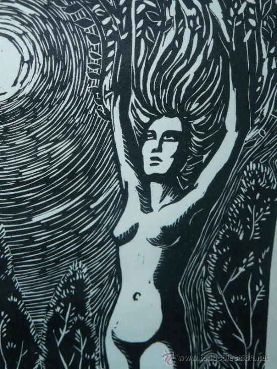 Arte: LITOGRAFIA - FIRMADO I TROWSKY - COMPOSICIÓN - 1977 - Foto 3 - 34454503