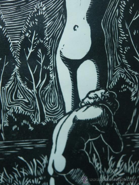 Arte: LITOGRAFIA - FIRMADO I TROWSKY - COMPOSICIÓN - 1977 - Foto 4 - 34454503