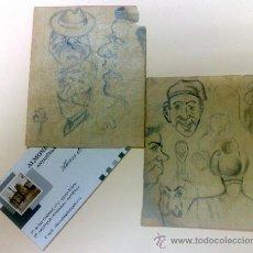 Arte: PERSONAJES.- RETRATOS O CARICATURAS.. Lote 34482360