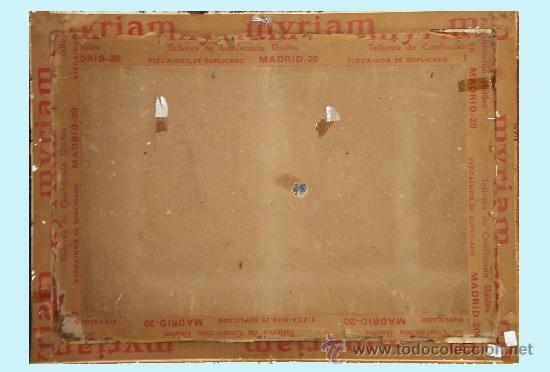 Arte: PEREA Y ROJAS, DANIEL (1886). -EL PASEILLO- DIBUJO A LAPIZ Y CLARION s/ CARTULINA 69 x 48 cm. - Foto 4 - 34557276