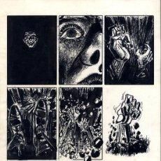 Arte: PAGINA ORIGINAL 1974 ISAAC MIGUEL DEL RIVERO CARPETA DE ASAS 25.5X36.5 ART COMIC. Lote 34744880