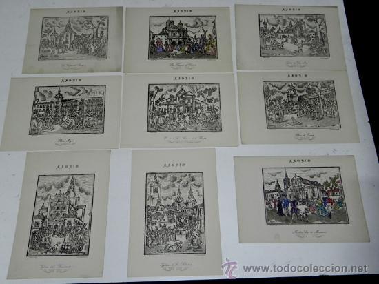 Arte: DESMARVIL, DESIDERIO MARIN VILLASECA, MADRID DE ANTAÑO. EVOCACIÓN PLÁSTICA Y LÍRICA DE LA VIDA MATRT - Foto 2 - 35226975