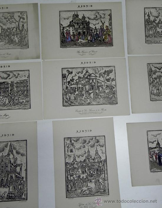 Arte: DESMARVIL, DESIDERIO MARIN VILLASECA, MADRID DE ANTAÑO. EVOCACIÓN PLÁSTICA Y LÍRICA DE LA VIDA MATRT - Foto 4 - 35226975
