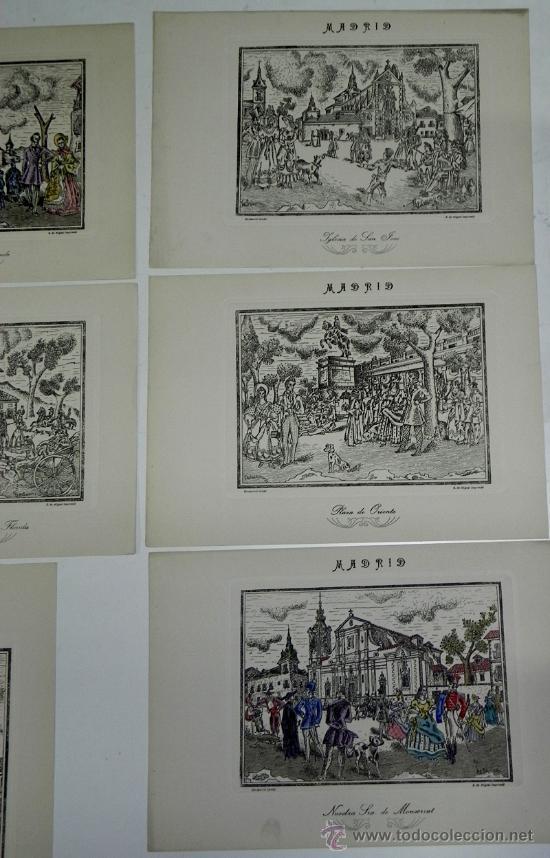 Arte: DESMARVIL, DESIDERIO MARIN VILLASECA, MADRID DE ANTAÑO. EVOCACIÓN PLÁSTICA Y LÍRICA DE LA VIDA MATRT - Foto 5 - 35226975