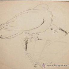 Arte: DIBUJO DE PERE YNGLADA (SANTIAGO DE CUBA 1881 - BARCELONA 1958). Lote 35258419