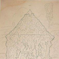 Arte: PAREJA DE ENAMORADOS, 1926. AGAPITO VIDAL SALICHS (LLORET DE MAR 1894 - BARCELONA 1962). Lote 35258859