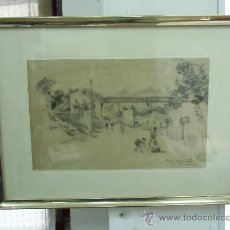 Arte: CARLOS BECQUER DOMINGUEZ (1889-1968). Lote 35413506