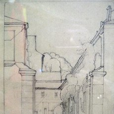 Arte: ARQUITECTURA CLÁSICA, FDO: ANDRADE - ANGEL ANDRADE BLAZQUEZ 1866-1932. Lote 56434117