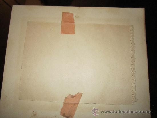 Arte: Dibujo a tinta, firmado 1949- dedic.Para Madame Montesinos Moss Lea- Firma B.Conde( resto ilegible - Foto 5 - 36036922