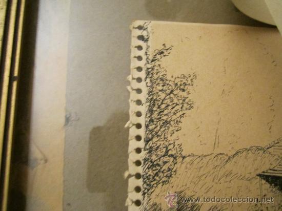 Arte: Dibujo a tinta, firmado 1949- dedic.Para Madame Montesinos Moss Lea- Firma B.Conde( resto ilegible - Foto 6 - 36036922