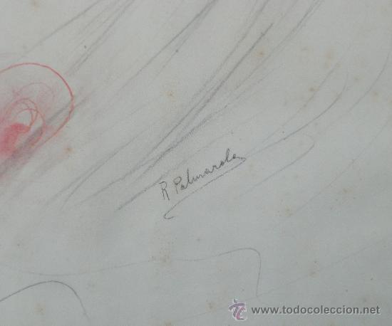 Arte: RETRATO DE DAMA - RAMON ROMEU PALMAROLA - Foto 2 - 36046655