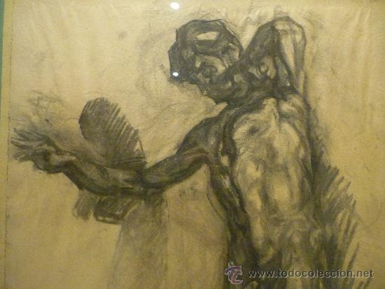 Arte: DIBUJO DE FRANCESC GIMENO ARASA (1857-1927). - Foto 3 - 36278511