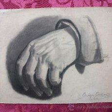 Arte: DIBUJO CARBONCILLO, S. XIX. Lote 36462585